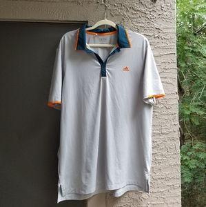 Men's Adidas Climacool Collared Golf Shirt
